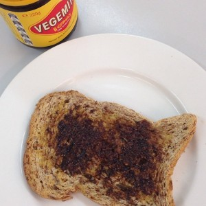 The simple yet satisfying delight of Vegemite on toast. An Aussie classic which never fails to impress.